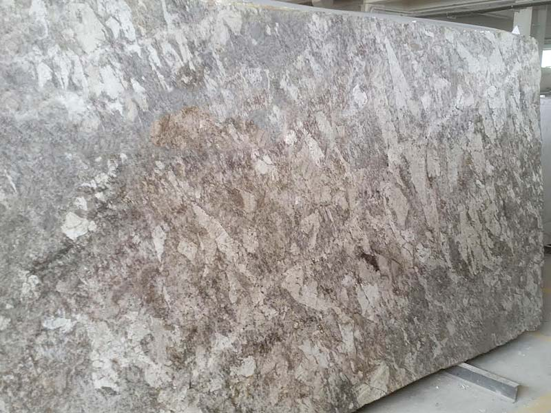 White Allure Granite Blocks And Slabs Available In Italy